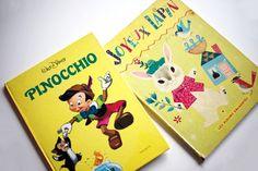 Livres books Walt Disney Pinocchio - Joyeux Lapin