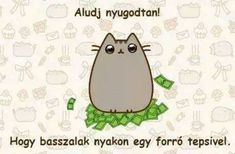 "Find and save images from the ""pusheen magyar😉"" collection by Zoé Rácz (zoeracz) on We Heart It, your everyday app to get lost in what you love. Pusheen Cat, Grumpy Cat, Potato Cat, Everything Funny, Cat Memes, Funny Moments, Cute Wallpapers, True Stories, We Heart It"