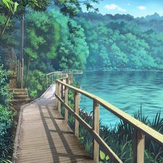 Resources for Visual Novels and Otomes - Site Today Episode Interactive Backgrounds, Episode Backgrounds, Anime Backgrounds Wallpapers, Anime Scenery Wallpaper, Animes Wallpapers, Fantasy Landscape, Landscape Art, Fantasy Art, Anime Gifs
