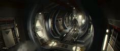Sci Fi Corridor by ATArts on deviantART