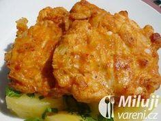 Čínské řízečky Czech Recipes, Ethnic Recipes, Food 52, Cauliflower, Macaroni And Cheese, Chicken Recipes, Good Food, Food And Drink, Menu