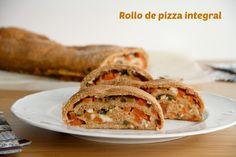 Rollo de pizza integral » Recetas Thermomix | MisThermorecetas