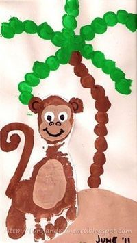 cute handprint crafts! preschool