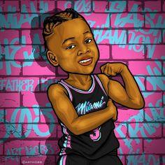 Dwyane Braid World Tour 🌎 Miami Heat Basketball, Basketball Teams, American Airlines Arena, Football Jokes, Nba Pictures, Mobb, Downtown Miami, Dwyane Wade, Naruto Characters