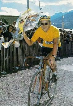 Tour de France 1968. Jan Janssen. Vintage Cycles, Bicycle Race, Classic Bikes, Road Cycling, World Championship, Racing, Tours, Sport, Bicycling