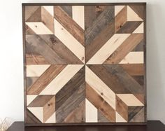 This is a handmade wooden wall mosaic made from upcycled wood. Each piece is hand cut and arranged into this beautiful sunburst to be enjoyed for many years to come. We can do this as a wall piece, table top, or headboard. Message us for details regarding pricing for tables and head boards. Dimensions: please read carefully  >> The pictured pieces are approximately 23/24x 48. The variation in width size (23-24) depends on availability of the wood we have. If the wood varies by even...