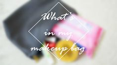 Everything inside my humble makeup bag.from beauty products to makeup in both pictures and video. Let me know what do you keep in your because you know how nosy I am already xx - Reem Noobo - MakeupForLunch