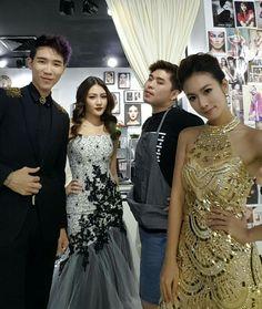 每个 artist 都有一个 pattern, 包括我们的 make up artist~ 哈哈 XD  Thanks to our Worldclass Makeup Artist - Tyler Cheng THE GLAM 把大家的妆都化得美美的 ^_^  #makeup #malaysia #artiste #celebrity #theglam