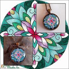 Mandalás nyaklánc (kedo) - Meska.hu Minion, Pendant Necklace, Diy, Jewelry, Mandalas, Jewlery, Bricolage, Bijoux, Jewerly