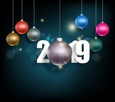 Happy new year 2019 and mery christmas chinese new year PNG and Vector Merry Christmas Images Free, Wish You Merry Christmas, Days Till Christmas, Vintage Christmas Images, Christmas And New Year, Happy New Year Message, Happy New Year Images, Happy New Year Wishes, Happy New Year 2019