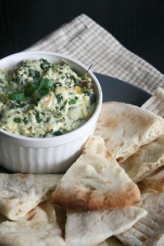 Hot Spinach and Artichoke Dip by Isabelle @ Crumb, via Flickr  i am making this one for some special people!