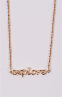 Written Necklace  @DownEast Basics #SpringStyle