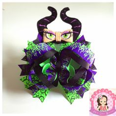 Malificent OTT Hair Bow