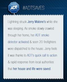 Jerry Malone's story. #ADTSaves #ADT #AlwaysThere
