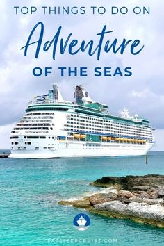 If you are sailing on one of the Summer 2021 cruises from the Bahamas, we give you our list of the Top Things to Do on Adventure of the Seas. Packing List For Cruise, Cruise Tips, Cruise Travel, Cruise Vacation, Cruise Excursions, Cruise Destinations, Cruise Ship Reviews, Royal Caribbean Ships, Cruise Pictures