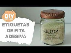 DIY EM CASA   Personalizando potes   Por GavetaMix - YouTube