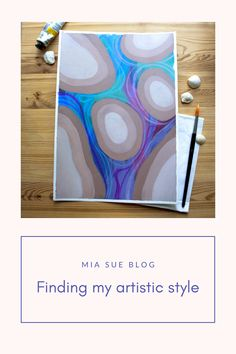 Read about my experience on finding my artistic style | Abstract watercolor and acrylic artist Surface Pattern Design, Abstract Watercolor, Creative Studio, Art Tutorials, Artsy, Artwork, Painting, Inspiration, Style
