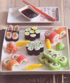 Sushi Fish And Seafood, Sushi, Ethnic Recipes
