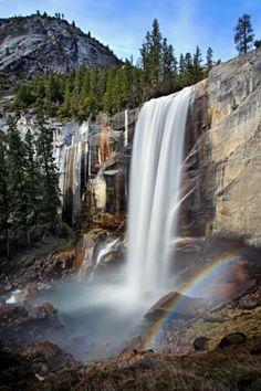 Vernal Falls - Yosemite CA by herminia