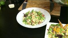 Aloha Mango Salad with Creamy Mango-Passion Vinaigrette (10.16.13)
