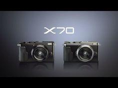 FUJIFILM X70製品紹介映像(60秒)/富士フイルム http://fujifilm.jp/personal/digitalcamera/x/fujifilm_x70/