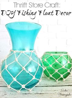 Love vintage glass fishing floats but can