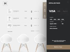 Payment. E-commerce furniture by Sara Miguel del Amo #Design Popular #Dribbble #shots