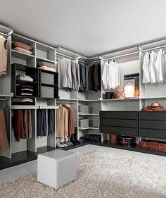 Mobilmarket - il Lusso Democratico - Arredamenti: Cabine Armadio: crea la tua Dressing Room personalizzata!