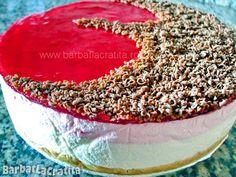Tort de iaurt cu blat de biscuiti Cheesecakes, Tiramisu, Camembert Cheese, Deserts, Cooking, Ethnic Recipes, Sweet, Food, Pie
