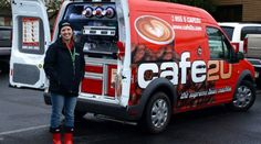 Own a high-demand mobile coffee franchise. Coffee Van, Espresso Coffee, Best Coffee, Coffee Nook, Coffee Time, Coffee Carts, Coffee Truck, Coffee Shop Franchise, Small Coffee Shop