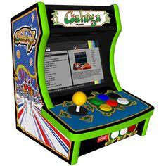 Mini Bartop 1 Joueur XL - Arcademy Retropie Arcade, Bartop Arcade, Arcade Game Room, Mini Arcade, Arcade Games, Classic Video Games, Retro Video Games, Retro Games, Video Game Decor