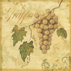 Tuscan Grape art