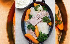 Recette de la tête de veau sauce gribiche des brasseries Bocuse