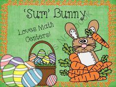 'Sum' Bunny -On TeachersNotebook