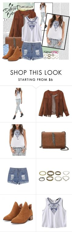 """""""Coachella _ new chic"""" by by-jwp ❤ liked on Polyvore featuring Oris, Balmain and newchic"""