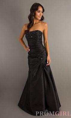 2c070444b24 Black or burgundy Long Formal Gowns