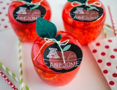 So many great ideas for Teacher Appreciation Gifts and end of the school year gifts. All teacher gift ideas are inexpensive and quick to put together! Employee Appreciation Gifts, Teacher Appreciation Week, Fall Teacher Gifts, Teacher Treats, Teacher Stuff, Creative Money Gifts, Back To School Gifts, School Stuff, School Days
