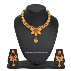 1 Gm Gold Designer Necklace Collections, 1 Gm Gold Necklace Designs, Latest 1 Gm Gold Necklace Models.