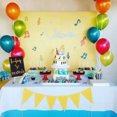 Musical birthday party | CatchMyParty.com