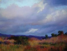 """Learn how to paint this picture with step by step #pastel #painting tips on """"Making Clouds Move in a Painting""""  http://www.artistsnetwork.com/articles/art-demos-techniques/pastels-making-clouds-move-in-a-painting"""