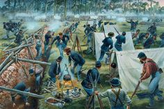 JOHN B. GORDON'S SURPRISE FLANK ATTACK ON THE UNION RIGHT FLANK, EVENING MAY 6, 1864