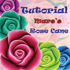 This rose cane is what started me in polymer clay...GREAT!!!!