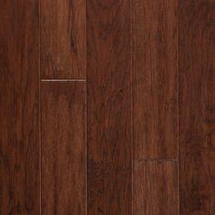 Hickory Prefinished Engineered hardwood floors by ARK Floors.  Finish Shown: COGNAC  www.shop4floors.com