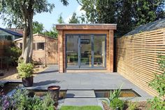 Garden Lodges built this wonderful Garden Studio in St Albans in May this year, based on the design requirements from the Bolton family, who currently use it as an Art Studio.