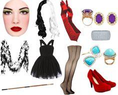 Cruella de vil divina muse pinterest costumes halloween cruella deville costume google search diy solutioingenieria Images