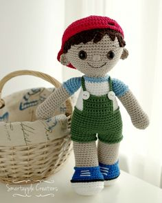 Tobias Boy Doll Amigurumi Pattern