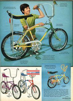when bikes were cool 1972, Sears Wish Book.