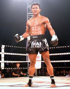 Buakaw Banchamek (Por. Pramuk) is certainly the most famous Muay Thai fighter from Thailand. His Muay Thai background and ethic made him one of the most respected fighters in the world. He has fought all over the world and has been instrumental on making Muay Thai an International sport. Within Thailand, he is highly respected, but generally not regarded as a true Muay Thai champion, as he left the sport at an early age. http://www.islandinfokohsamui.com/