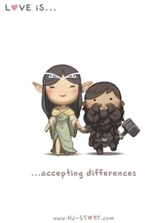 Love is... Accepting differences
