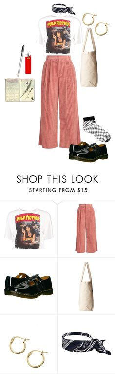 """""""avant-garde cutie"""" by lazystripes on Polyvore featuring Boohoo, Muveil, Dr. Martens, Dogeared, Lord & Taylor and ASOS"""
